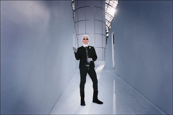 "Emanuele Scorcelletti ""The Icon, Karl Lagerfeld"", Februar 2006"