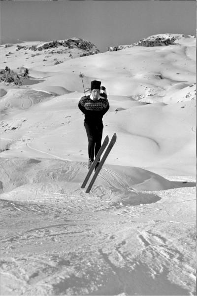 """Michael Friedel """"Gunter Sachs, Playboy und Kunstsammler"""", St. Moritz, Schweiz, 1963"""