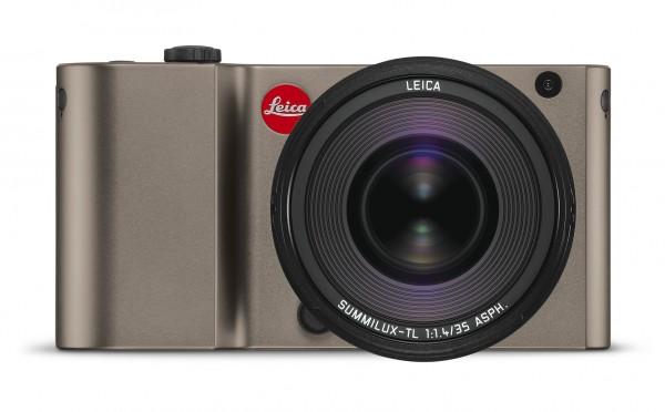 Leica TL, titan eloxiert, Gehäuse