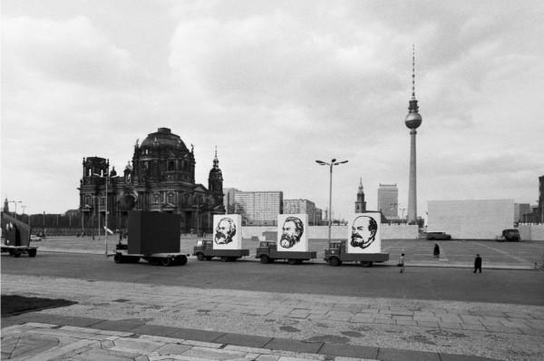 Régis Bossu ''Marx-Engels-Platz'', East Berlin, 1972