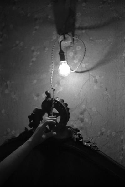 "René Groebli ""Licht aus (#1600)"", 1952"