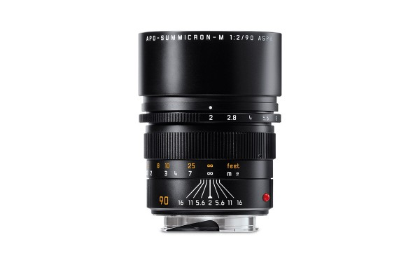 Leica APO-SUMMICRON-M 1:2,0/90 mm ASPH. Schwarz eloxiert