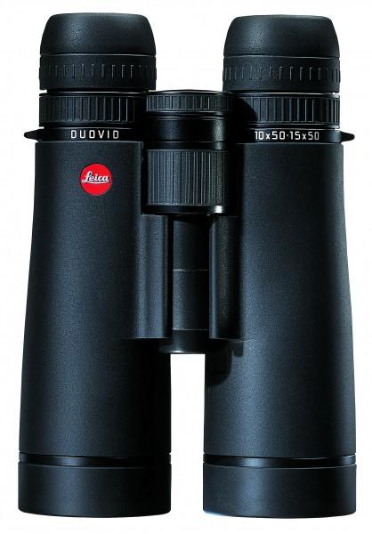 Leica Duovid 10+15x50, schwarz