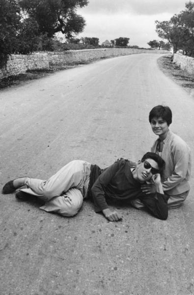 """Michael Friedel """"Liebespaar"""" Bari, Italien, 1953"""