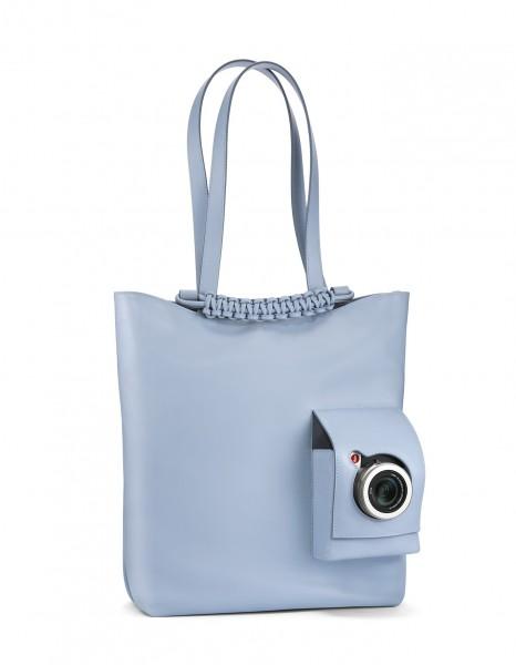 Leica Shopping Tasche, babyblau