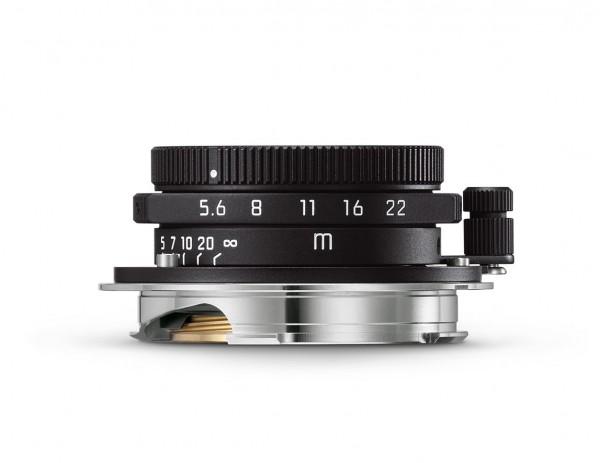 Leica Summaron-M 1:5,6 / 28mm, mattschwarz lackiert