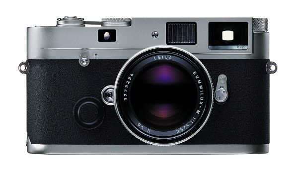 Leica MP 0.72 Silbern verchromt, Gehäuse