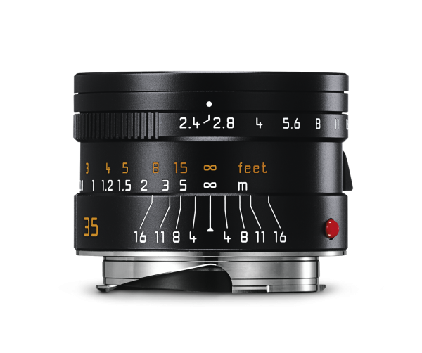 Leica SUMMARIT-M 1:2,4/35mm ASPH. Schwarz