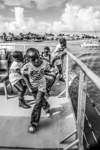 """Mathieu Bitton """"Bo Hengy II Gang"""", Nassau, Bahamas, 2016"""