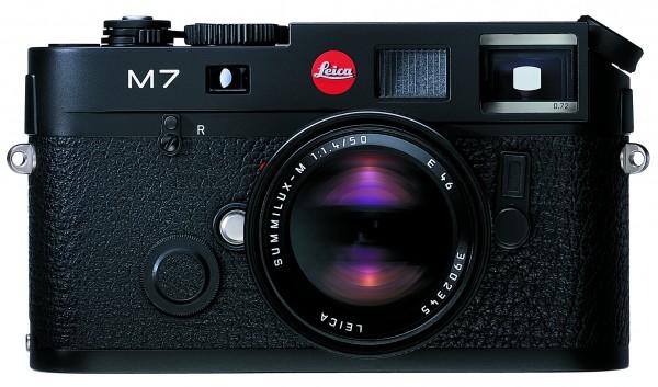 Leica M 7 0.72 Schwarz verchromt, Gehäuse
