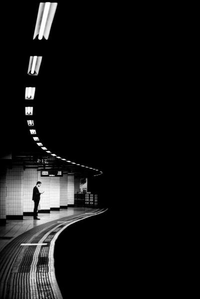 "Alan Schaller ""London Underground Abstraction"""