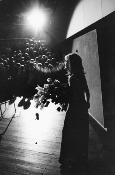 """Michael Friedel """"Hildegard Knef, Konzert Hamburg"""", 1960"""