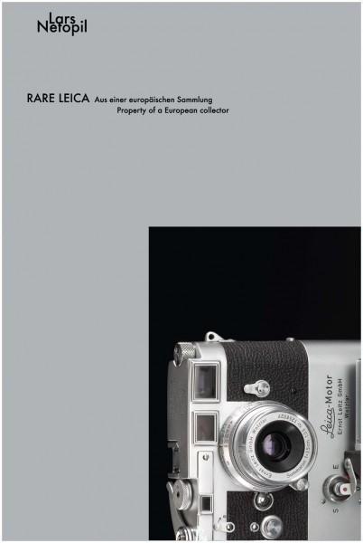 """Lars Netopil """"Rare Leica. Aus einer europäischen Sammlung"""""""