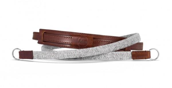 Leica CL Tragriemen Lifestyle, Leder/Textil, grau