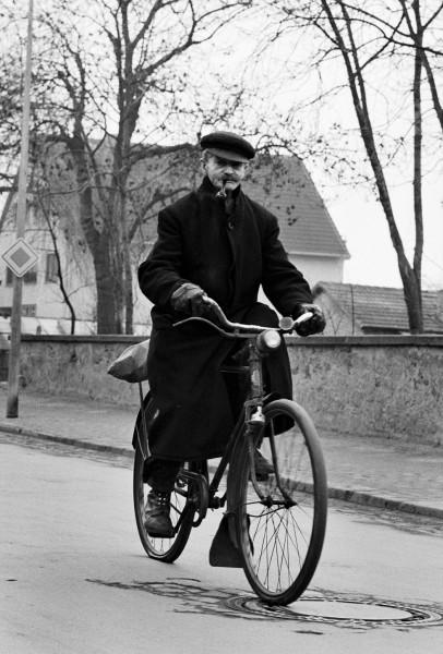 Régis Bossu ''Elderly Easy Rider'', Darmstadt, 1971
