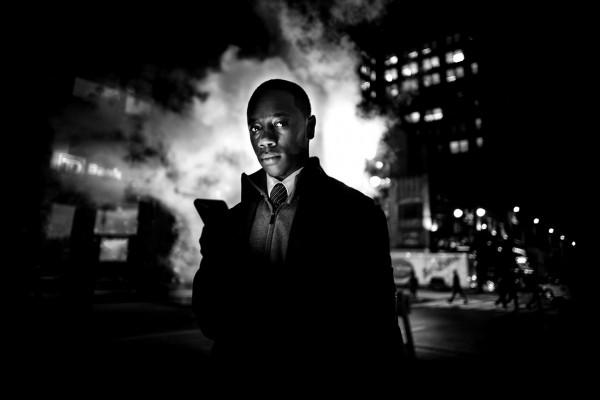 "Alan Schaller ""New York by Night"""