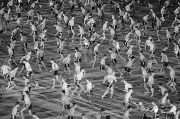 """Michael Friedel """"Kommunistischer Parteitag, Massenchoreographie"""", Bukarest, Rumänien, 1964"""