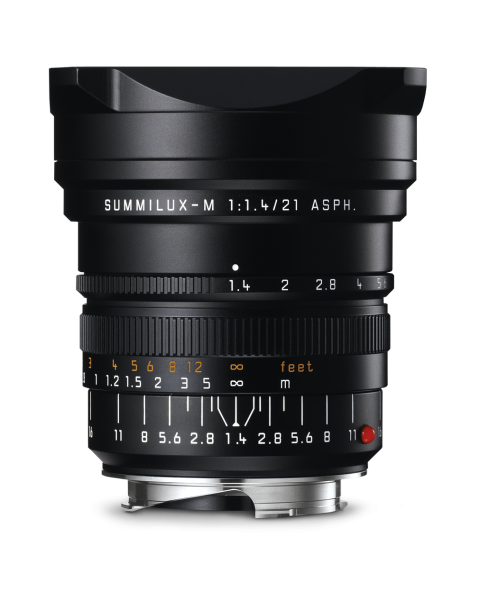 Leica SUMMILUX-M 1:1,4/21 mm ASPH. Schwarz