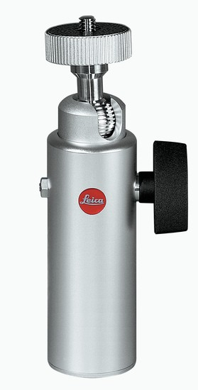 Leica Kugelgelenkkopf18 groß, silber eloxiert