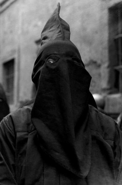 """Michael Friedel """"Büßer, Fronleichnamsprozession"""", Orvieto, Italien, 1953"""