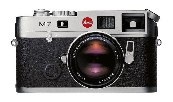 Leica M 7 0.72 Silbern verchromt, Gehäuse