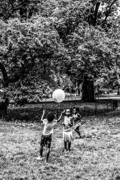 "Mathieu Bitton ""A catch Central Park"", New York City, 2016"
