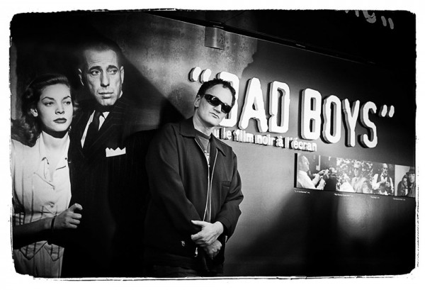 "Emanuele Scorcelletti ""Bad boys, Quentin Tarantino"", 57th Cannes Festival, Mai 2004"