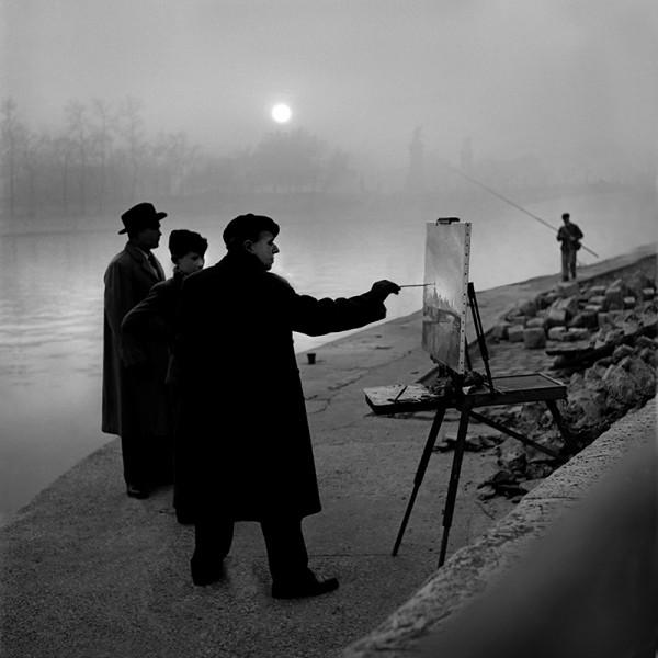 """René Groebli """"Paris (#1436)"""", 1949"""