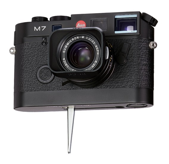 Leicavit M schwarz lackiert