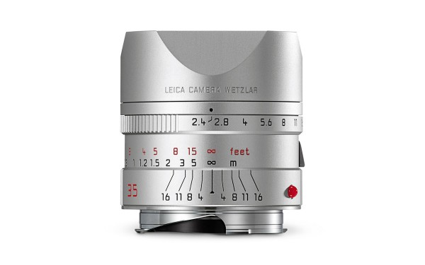 Leica SUMMARIT-M 1:2,4/35mm ASPH. Silbern