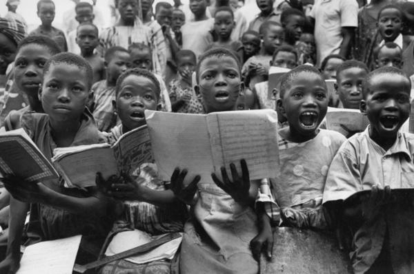 "Michael Friedel ""ABC-Schule"", Oshogbo, Nigeria, 1961"