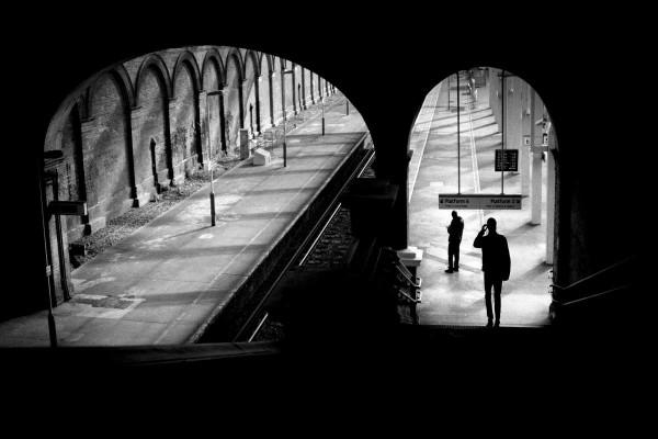 "Alan Schaller ""London Platform"""
