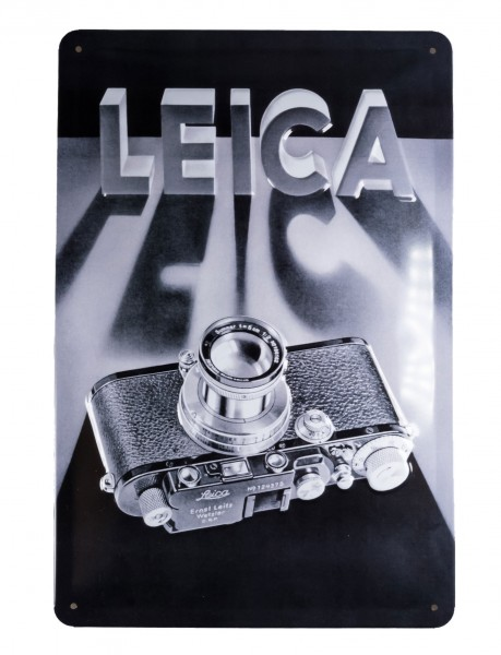 Leica advertising sign