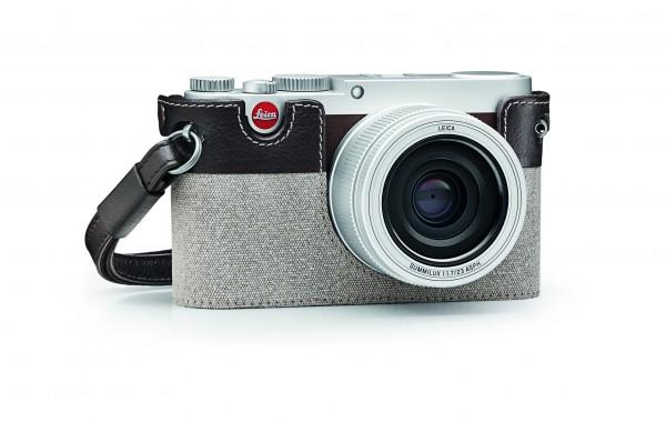 Leica Protektor für X Vario und X, Canvas, Taupe