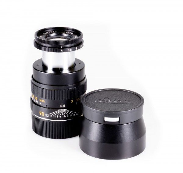 Leica Macro-Elmar-M 1:4/90mm Set