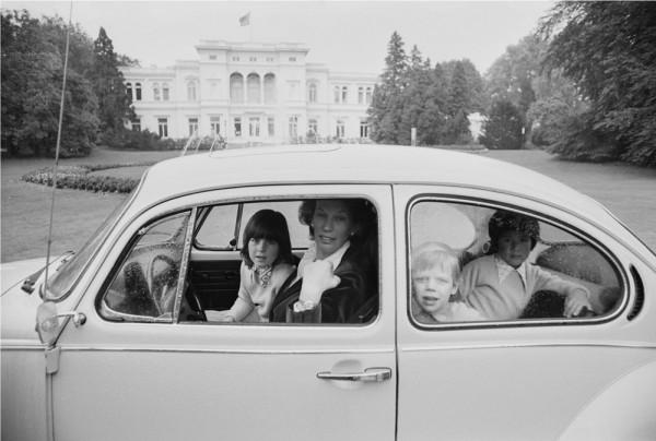 "Michael Friedel ""Mildred Scheel, Frau des Bundespräsidenten, Villa Hammerschmidt, Bonn"