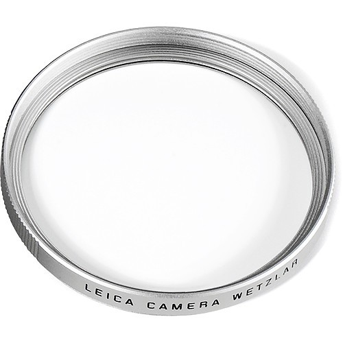 Filter UVa II, E55, silbern