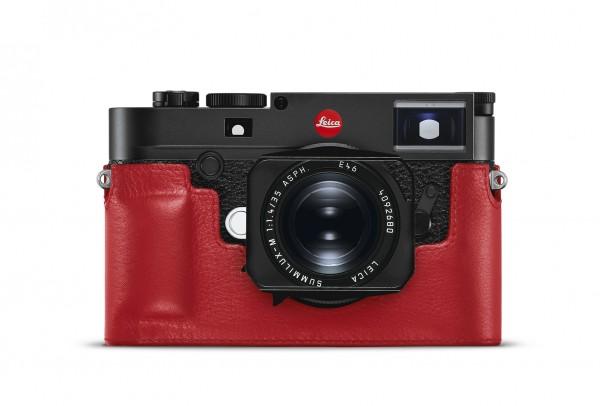 Leica Protektor M10, Leder, rot