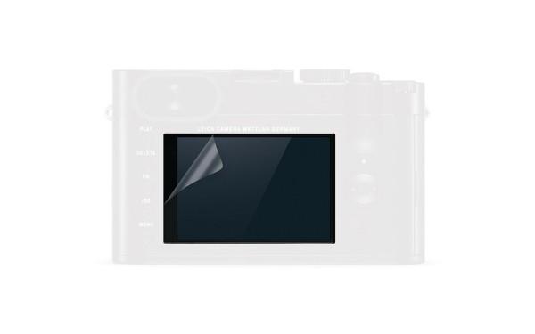 Leica Displayschutzfolie für Leica Q-Kameras, (2er Pack)