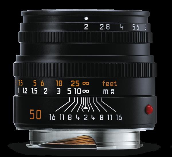 Leica SUMMICRON-M 1:2/50 mm 黑色镜头