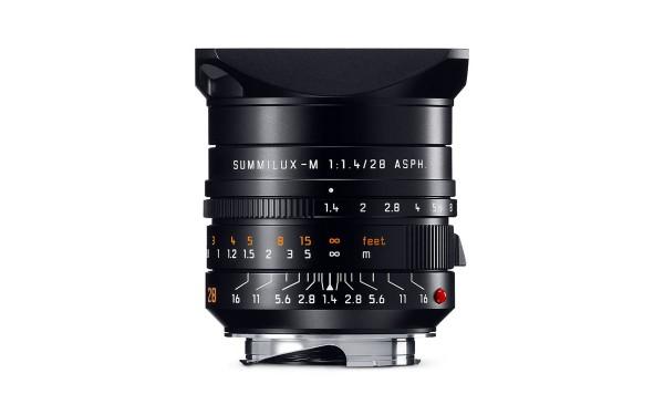 Leica SUMMILUX-M 1,4/28 mm ASPH. Schwarz
