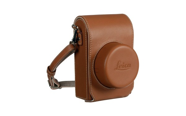 Leica Ledertasche D LUX, Cognac
