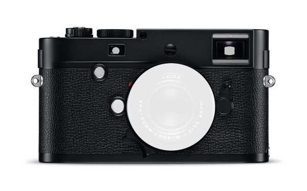 Leica M Monochrom (Typ 246) Schwarz verchromt
