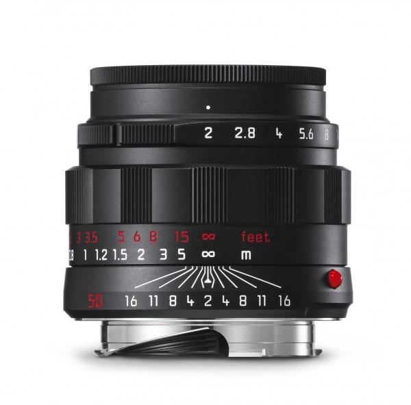 Leica APO-Summicron-M 1:2 / 50mm ASPH., schwarz verchromt