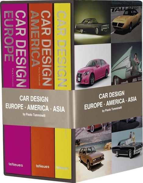 "Paolo Tumminelli ""Car Design Box Set - Europe, America, Asia"""