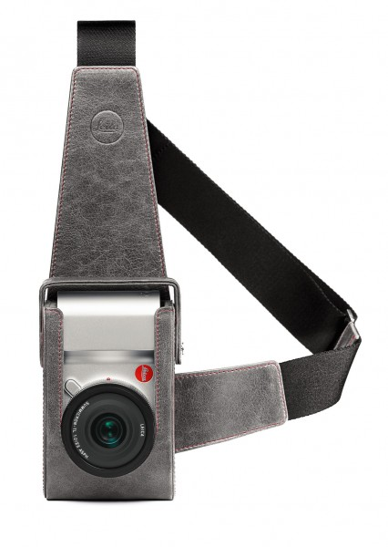 Leica Leather holster, stone grey