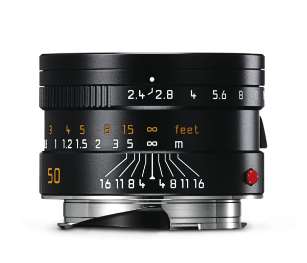 Leica SUMMARIT-M 50 mm f/2.4 Black