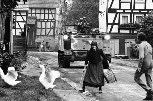 Régis Bossu ''Maneuver in Hesse'', 1981