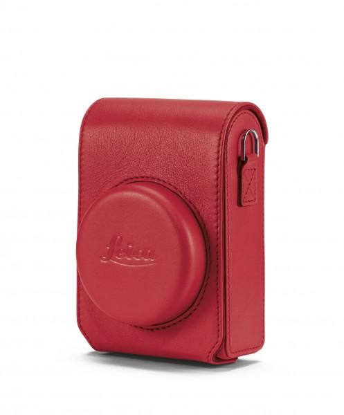 Tasche C-Lux, Leder, rot