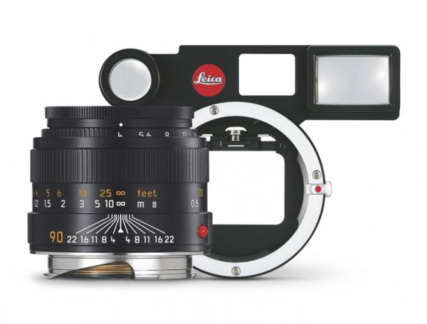 Leica微距镜头套装 (M4/90,广角取景器,M微距转接环)黑色